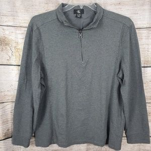 Calvin Klein Pullover Sweater Size XL 1/4 Zip